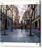 Jean Beauvais Paris Couple Walking Acrylic Print