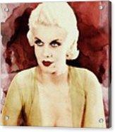 Jean Harlow Acrylic Print