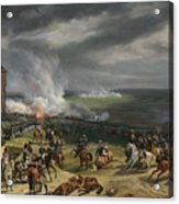 Jean Horace Vernet   The Battle Of Valmy Acrylic Print