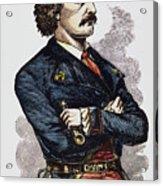 Jean Lafitte (c1780-c1826) Acrylic Print