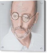 Jean Reno Acrylic Print
