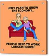 Jeb Bush Acrylic Print