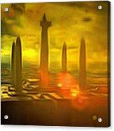 Jedi Temple - Da Acrylic Print