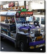 Jeepney 06 Acrylic Print