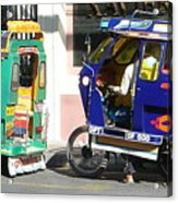 Jeepney 09 Acrylic Print