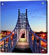 Jefferson Avenue Footbridge Acrylic Print