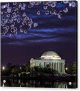 Jefferson Cherry Sunrise Acrylic Print