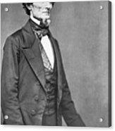 Jefferson Davis Acrylic Print by American Photographer
