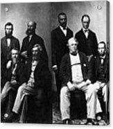 Jefferson Davis Trial Acrylic Print