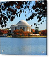 Jefferson In Splendor Acrylic Print