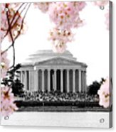 Jefferson In Spring Acrylic Print