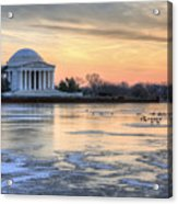 Jefferson Acrylic Print by JC Findley