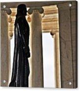 Jefferson Memorial 1  Acrylic Print