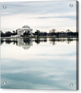 Jefferson Memorial And Tidal Basin Acrylic Print