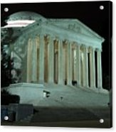 Jefferson Memorial At Night Acrylic Print