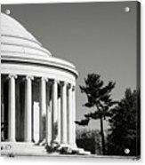 Jefferson Memorial Building In Washington Dc Acrylic Print
