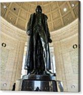 Jefferson Memorial Lll Acrylic Print
