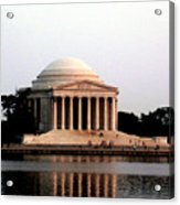 Jefferson Monument After Sunset Acrylic Print