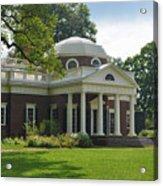 Jeffersons Monticello Acrylic Print