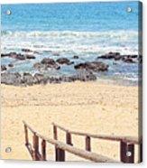 Jeffreys Bay Acrylic Print