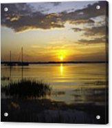 Jekyll Island Sunset Acrylic Print
