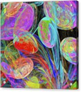 Jelly Beans And Balloons Abstract Acrylic Print