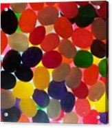 Jellybeans Acrylic Print by Anna Villarreal Garbis