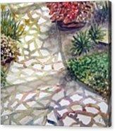 Jennifers Garden Acrylic Print