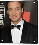 Jeremy Renner At Arrivals For 16th Acrylic Print by Everett