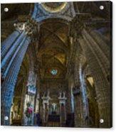 Jerez De La Frontera Cathedral Dome From Inside Cadiz Spain Acrylic Print