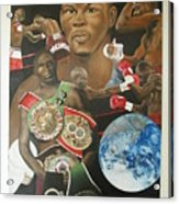 Jermain Taylor Montage Acrylic Print