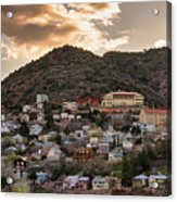 Jerome - America's Most Vertical City Acrylic Print