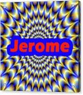 Jerome Acrylic Print