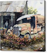 Jeromes Tank Truck Acrylic Print