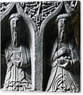 Jerpoint Abbey Irish Tomb Weepers Saints County Kilkenny Ireland Acrylic Print