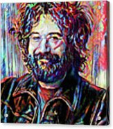 Jerry Garcia Art - The Grateful Dead Acrylic Print