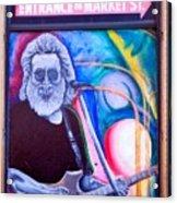 Jerry Garcia - San Francisco Acrylic Print