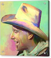 Jerry Jeff The Gypsy Songman Acrylic Print by GCannon