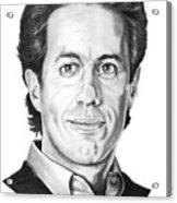 Jerry Seinfeld Acrylic Print