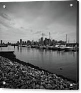 Jersey City Yacht Club Acrylic Print