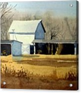Jersey Farm Acrylic Print