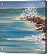 Jersey Rocks Acrylic Print