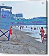 Jersey Shore - Atlantic City Acrylic Print