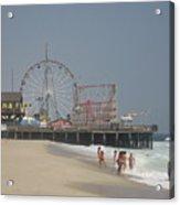 Jersey Shore Summer Acrylic Print