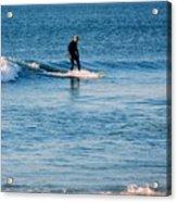 Jersey Shore Surfer Acrylic Print