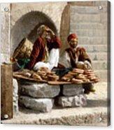 Jerusalem - Bread Seller Acrylic Print
