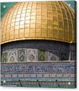 Jerusalem - Dome Of The Rock Acrylic Print