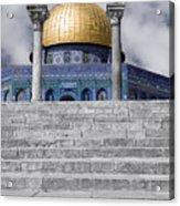 Jerusalem - The Dome Acrylic Print
