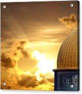Jerusalem - The Morning Light Acrylic Print