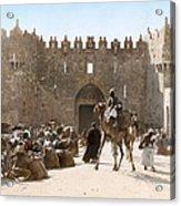 Jerusalem: Caravan, C1919 Acrylic Print